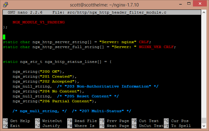 NginX HTTP Header Source