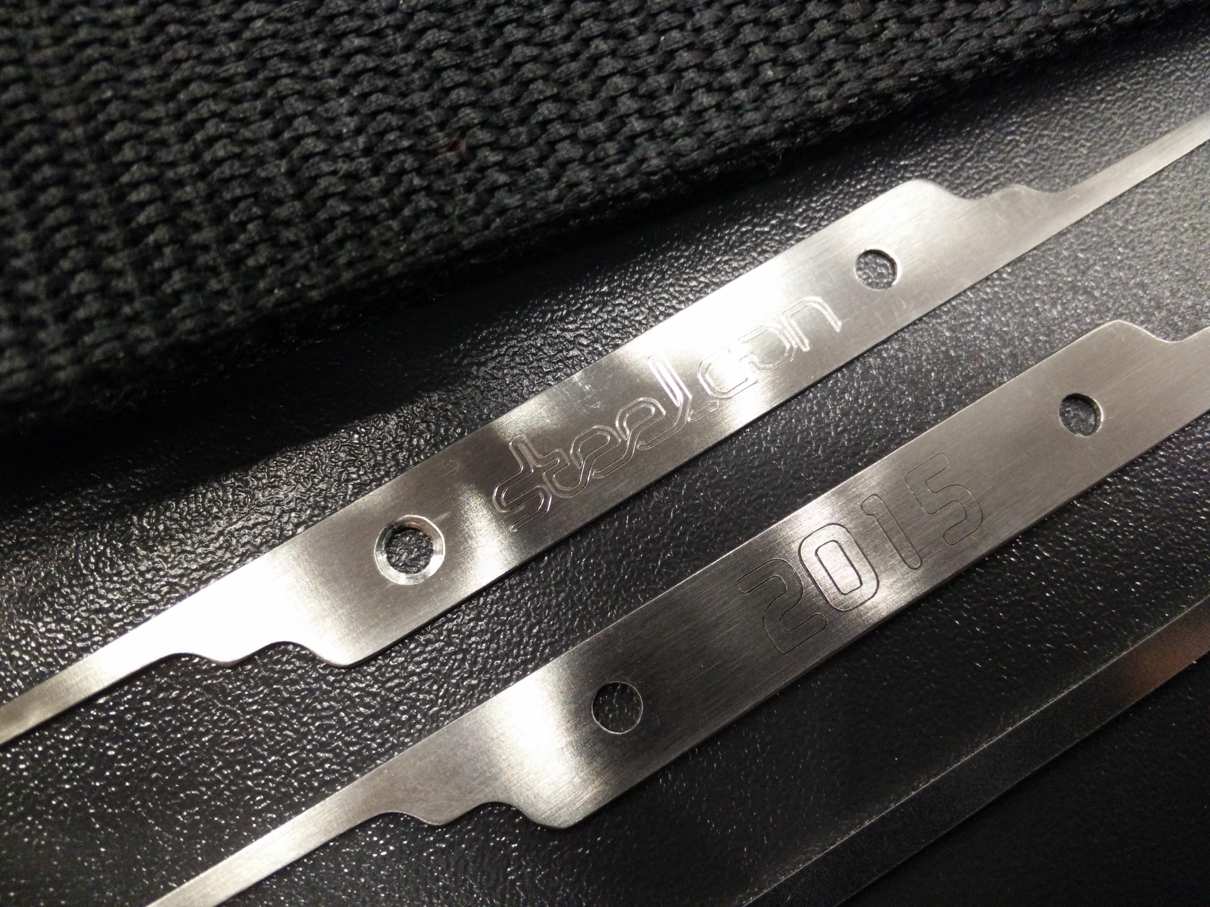 lock picks close up