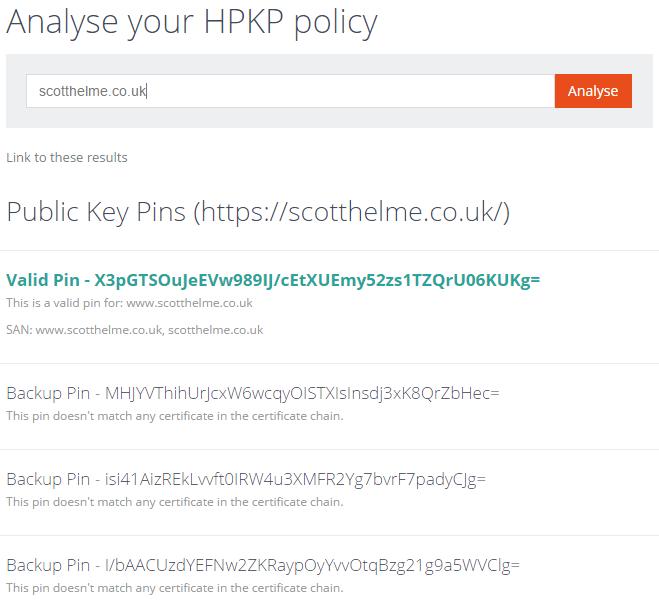 hpkp analyser new