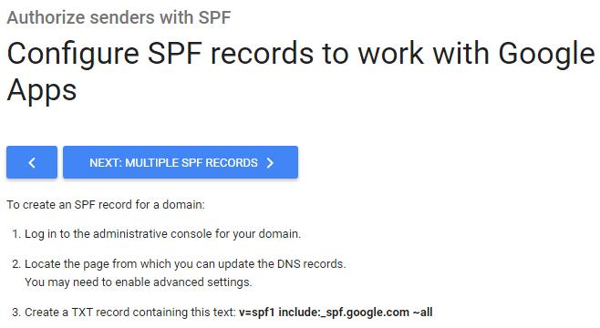 google SPF