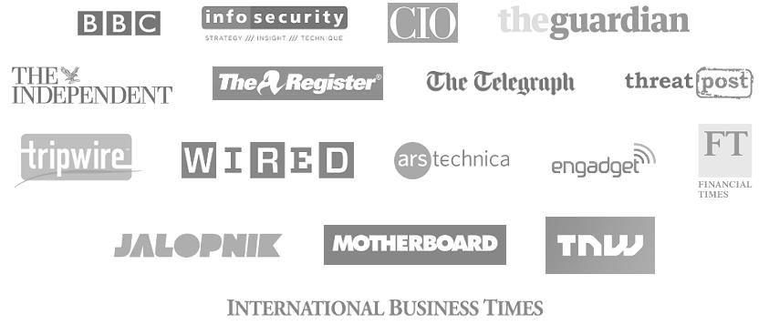 some media logos