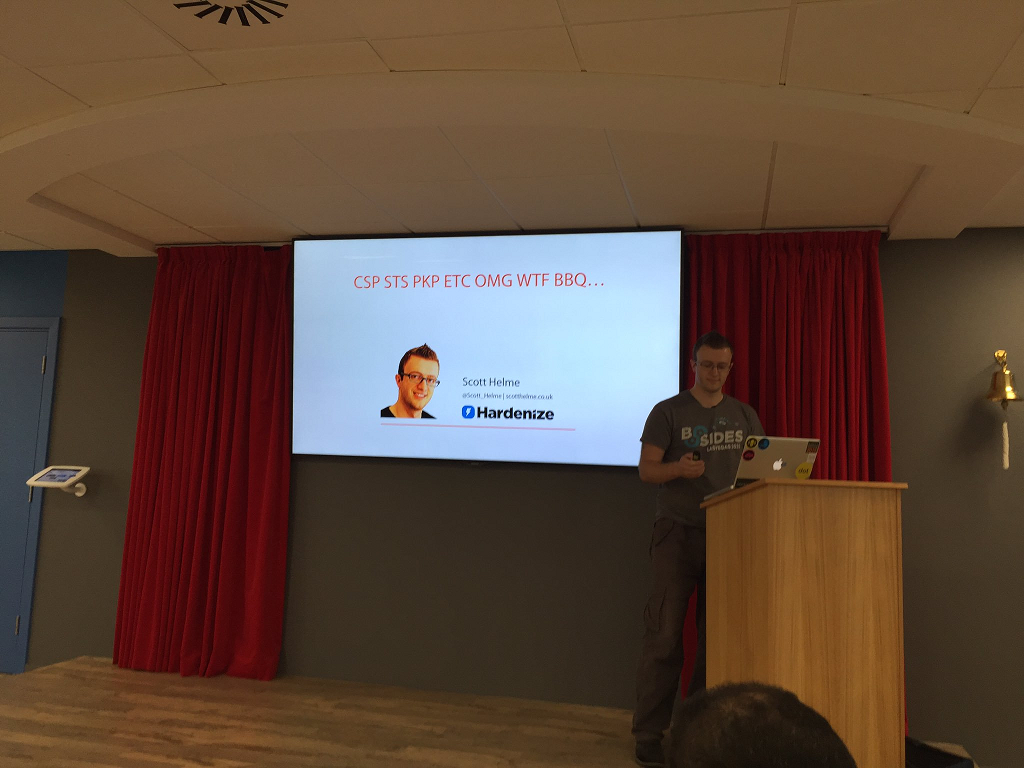 me presenting at owasp london