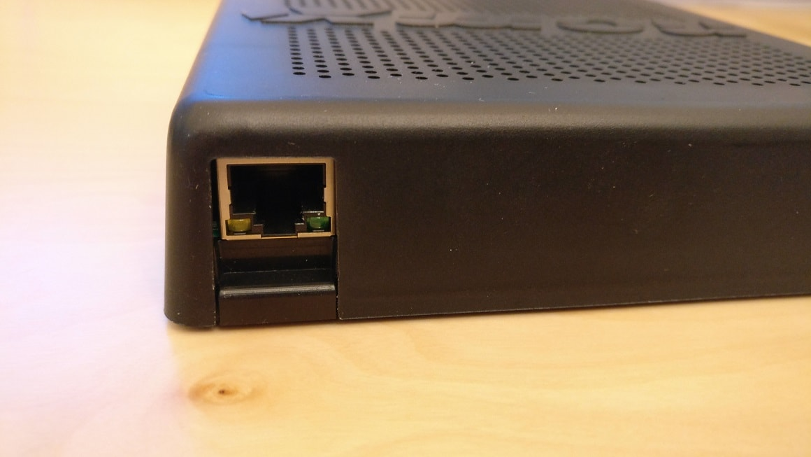 Ethernet port