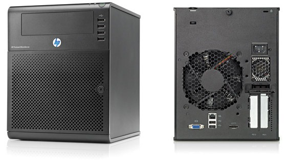 server front and back