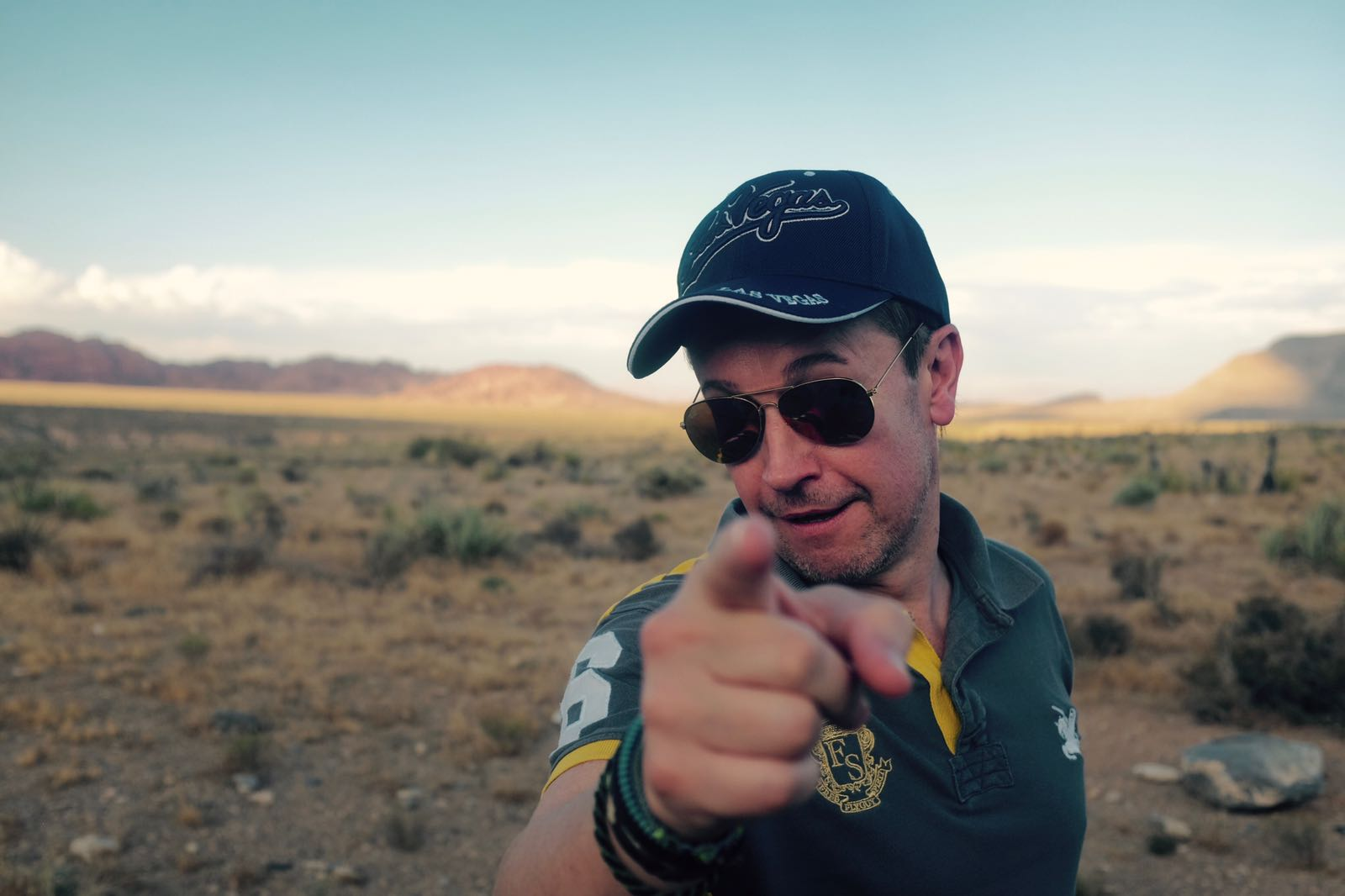Dan in the desert
