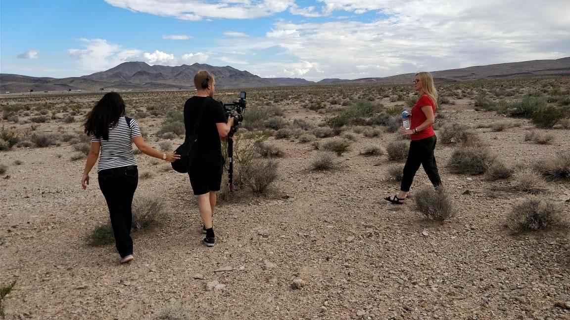 the desert shoot
