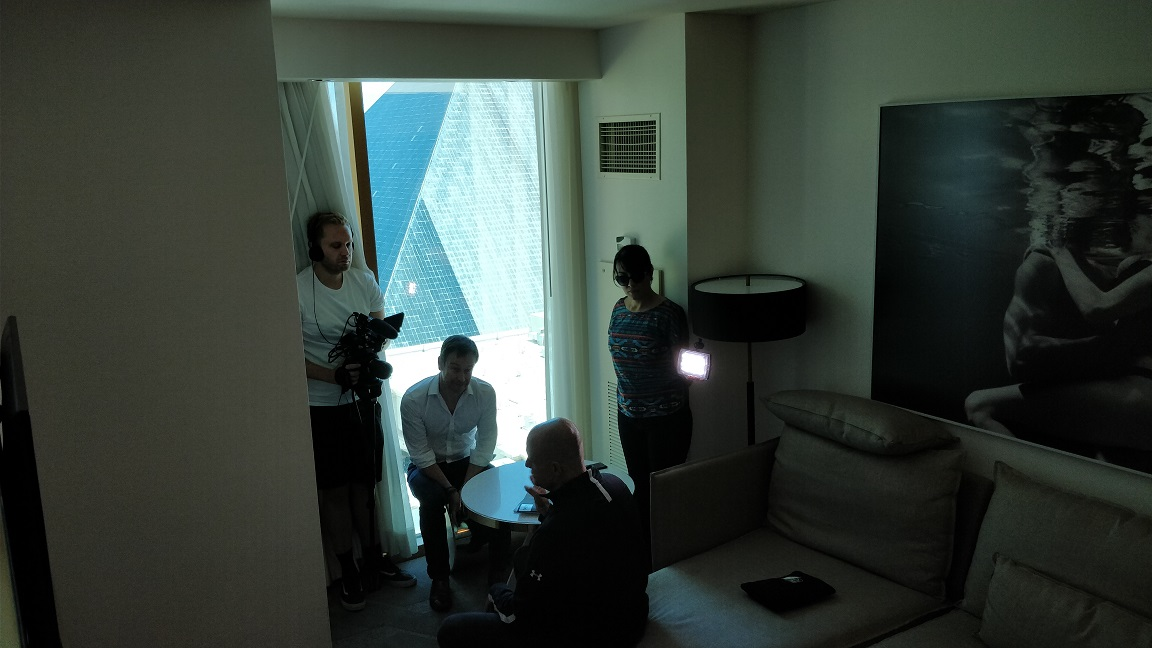 VPN shoot with Silent Circle CEO