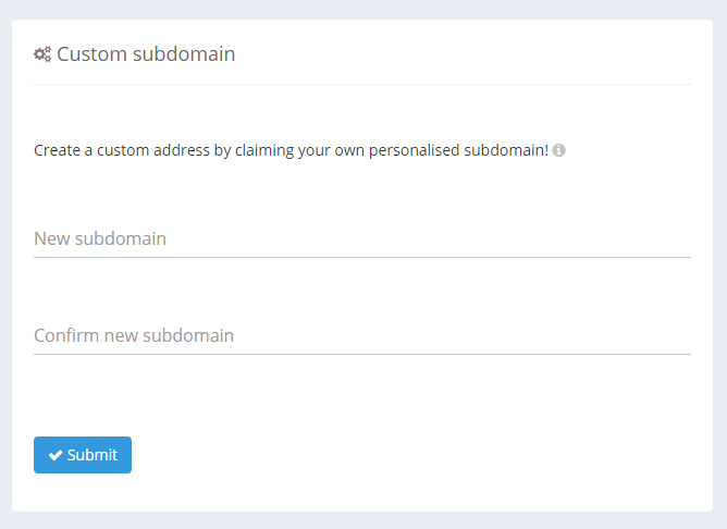 custom-subdomain